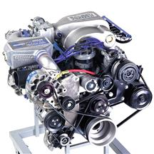 Mustang Vortech V-3 SI Intercooled H.O. Complete Supercharger System - Polished (86-93)