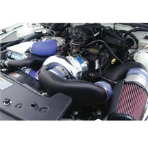 Mustang 4.0L V6 V-3 Si Intercooled Supercharger Kit Polished (07-08)
