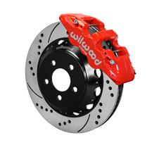 "Mustang Wilwood AERO6 Front Brake Kit - 14""  - Red (15-17)"