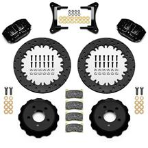 "Mustang Wilwood DynaPro 4R Front Drag Brake Kit w/ Hoses  - 4 Piston - 12.9"" (15-18)"