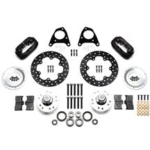 Mustang Wilwood Forged Dynalite Front Drag Kit (87-93)
