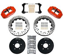 "Mustang Wilwood Superlite 6R Front Brake Kit - 12.88"" (94-04)"
