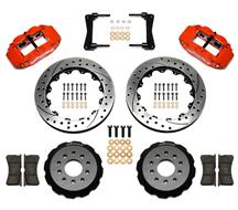 "Mustang Wilwood Superlite 6R Front Brake Kit - 6 Piston - 13"" - Red (05-14)"