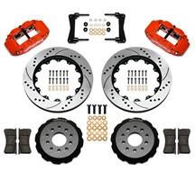 "Wilwood Mustang Superlite 6R Front Brake Kit - 6 Piston - 14"" - Red (05-14) 1409110DR"