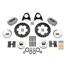 "Mustang Wilwood Forged Dynalite Front Drag Kit - 4 Piston - 10.75"" (87-93)"