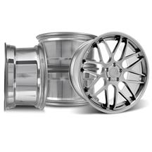 Mustang Downforce Wheel Kit - 20x8.5/10 Platinum (05-15)