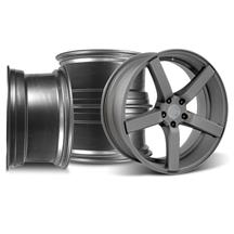 Mustang DF5 Wheel Kit - 20x8.5/10 Matte Gunmetal (05-15)
