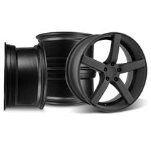 Mustang DF5 Wheel Kit - 20x8.5/10 Flat Black (05-14)
