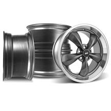 Mustang Bullitt Wheel Kit - 20x8.5/10 Anthracite w/ Mirror Lip (05-16)