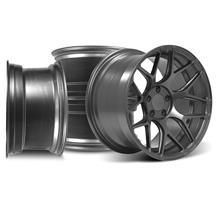 Mustang Rovos Pretoria Wheel Kit 18X9/10.5 Satin Gunmetal (94-04)