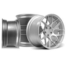 Mustang Rovos Pretoria Wheel Kit 18X9/10.5 Satin Silver (94-04)