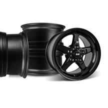 Mustang SVE Drag Wheel Kit 15X3.75/10 Gloss Black (05-10)