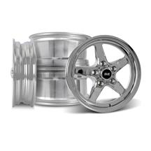 Mustang SVE Drag Wheel Kit 15x3.75/10  - Chrome (94-04)
