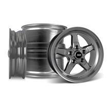 Mustang SVE Drag Wheel Kit 15x3.75/10 Dark Stainless (94-04)