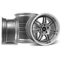 Mustang SVE Anniversary Wheel Kit - 17x9/10  - Anthracite (94-04)