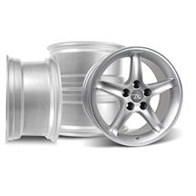 Mustang Cobra R Wheel Kit - 17x9  - Silver (94-04)