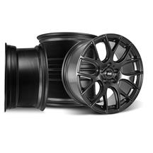 Mustang SVE Drift Wheel Kit - 18x9/10 Flat Black (94-04)