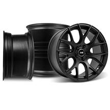 Mustang Drift Wheel Kit - 18x9 Flat Black (94-04)