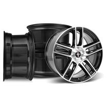 Mustang Ford Performance Laguna Seca Boss 302S Wheel Kit - 19x9/10  - Black w/ Machined Face (05...