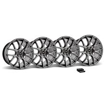 Mustang SVE Drift Wheel & Lug Nut Kit - 19x9.5 Dark Stainless (15-17)