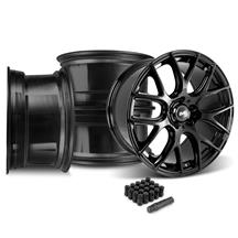 Mustang SVE Drift Wheel Kit - 19x9.5  - Gloss Black (15-19)