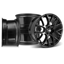 Mustang SVE Drift Wheel Kit - 19x9.5  - Gloss Black (05-14)