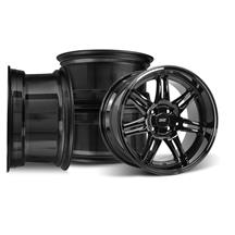 Mustang SVE Anniversary Wheel Kit - 17x9/10  - Gloss Black (79-93)
