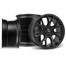 Mustang SVE Drift Wheel Kit - 18x9/10 Flat Black (05-14)