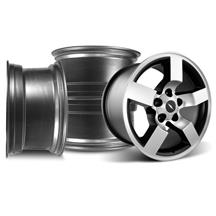 F-150 SVT Lightning Wheel Kit - 18x9.5  - Machined (99-04)