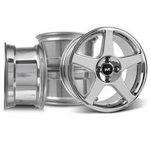 Mustang 4 Lug 2003 Cobra Wheel Kit - 17x9 Chrome (79-93)