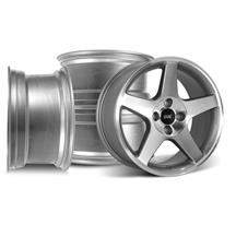 Mustang SVE 2003 Cobra Style Wheel Kit - 17x9  - Machined (79-93)