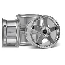 Mustang 03 Cobra Wheel Kit - 17x9/10.5 Chrome (94-04)