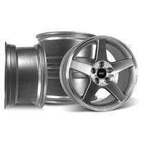 Mustang SVE 2003 Cobra Style Wheel Kit - 17x9/10.5  - Machined (94-04)