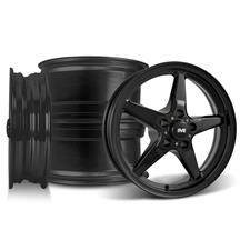 Mustang SVE Drag Wheel Kit - 17x4.5/15x10  - Gloss Black (94-04)