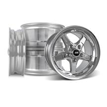 Mustang SVE Drag Wheel Kit 17x4.5/15x10  - Chrome (05-14)