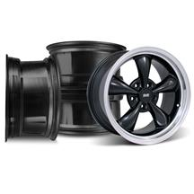 Mustang Bullitt Wheel Kit - 17x9/10.5 Black (94-04)