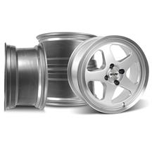 Mustang Saleen SC 17X8 Wheel Kit Silver (79-93)