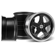 Mustang Saleen SC 17X9 Wheel Kit Black (79-93)