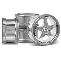 Mustang Saleen SC Wheels 17X9/10 Chrome (79-93)
