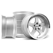 Mustang Saleen SC Wheels 17x9/10 Silver (94-04)