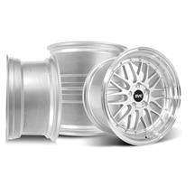Mustang SVE Series 1 Wheel Kit - 18x9/10  - Gloss Silver (94-04)
