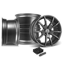 Mustang CDC Outlaw 20X10 Wheel & Lug Nut Kit  Gunsmoke (05-14)