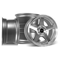 Mustang SVE 2003 Cobra Style Wheel Kit - 17x9/10.5  - Machined - Deep Dish (94-04)