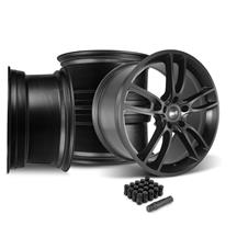 Mustang SVE GT7 Wheel Kit - 20x10  - Satin Black (15-19)
