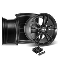 Mustang SVE GT7 Wheel Kit - 20x10/11  - Satin Black (05-14)