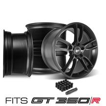 Mustang SVE GT350 GT7 Wheel Kit - 19x11/11.5  - Satin Black (15-19)