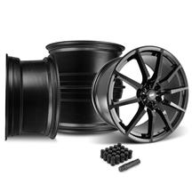 Mustang SVE S350 Wheel Kit - 20x10  - Gloss Black (15-20)