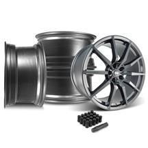 Mustang SVE S350 Wheel Kit - 20x10  - Gloss Graphite (15-18)