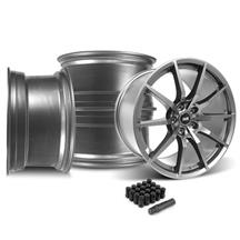 Mustang SVE S350 Wheel Kit - 19x10  - Gloss Graphite (15-17)