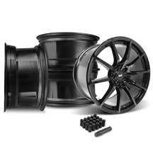 Mustang SVE S350 Wheel Kit - 19x10/11  - Gloss Black (15-20)